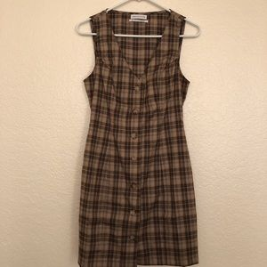 UO Plaid Dress